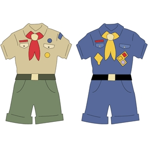 scout - boy uniforms