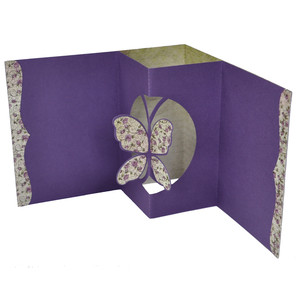 butterfly pop up card