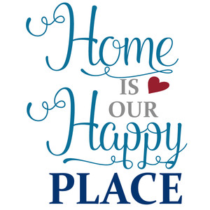 home is our happy place