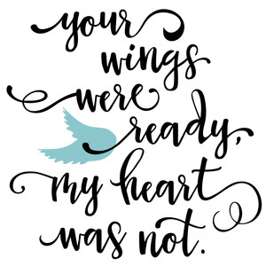 your wings were ready phrase