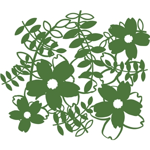 flower vine background
