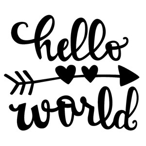 hello world baby phrase