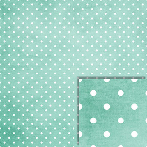 christmas blue polka dot background paper