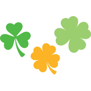 shamrock and clovers
