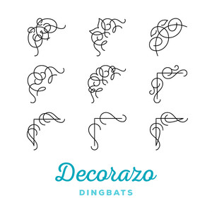 decorazo dingbats
