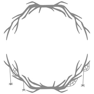 branch spiderweb frame