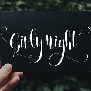 girly night font