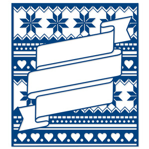 christmas pattern banner