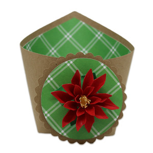 poinsettia wrap box