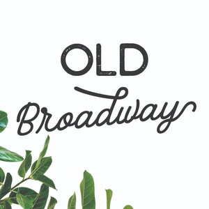 old broadway font duo