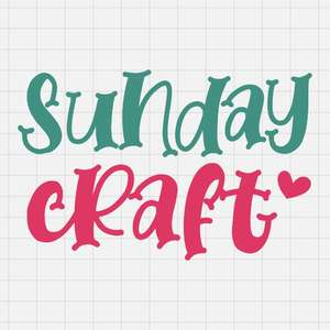 sunday craft