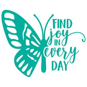 find joy in everyday