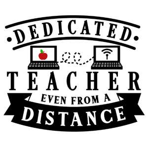 dedicated teacher from distance