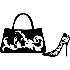 filagree purse & heels