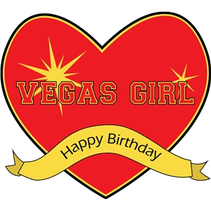vegas girl happy birthday