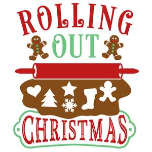 rolling out christmas