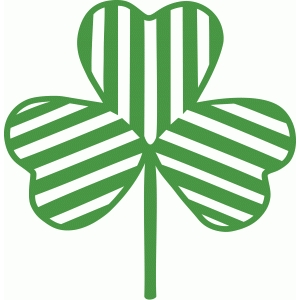 striped shamrock
