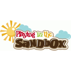 playing in the sandbox title/phrase