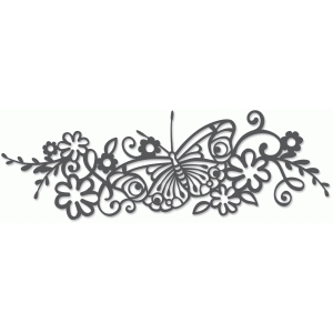 butterfly flourish