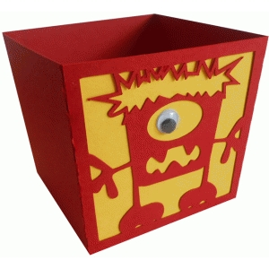 hairy monster candy box