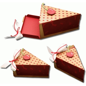 3d cherry pie box