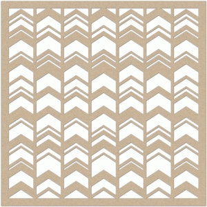 chevron placemat