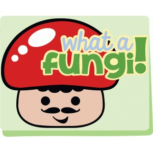 fungi kawaii card