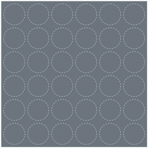 stitched circles background