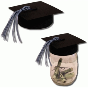 3d graduation hat for jars
