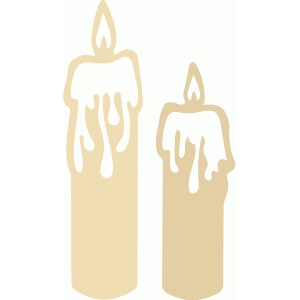drippy candles