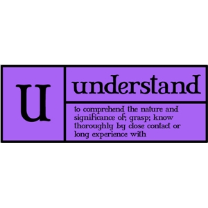 u is for understand pc
