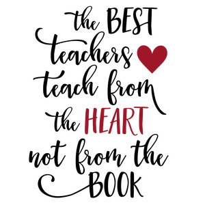 teach from heart phrase
