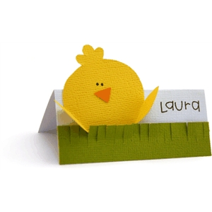 peeping chick placecard
