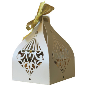 christmas ornament favor box