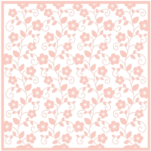 floral vine background (cameo)
