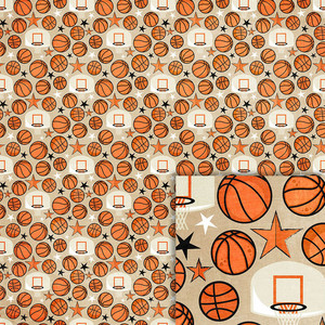 basketball background paper