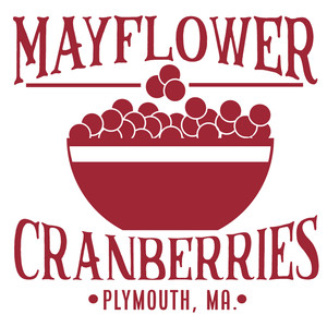 mayflower cranberries sign