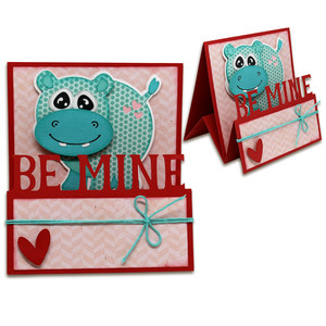 be mine hippo tent card