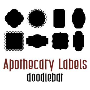 apothecary labels doodlebat