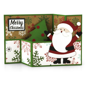wiper card christmas santa