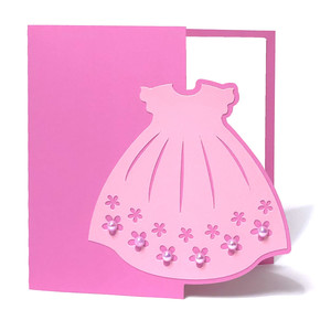 baptism dress card