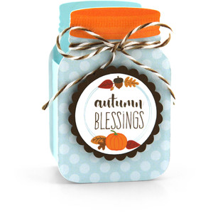 mason jar treat box autumn blessings