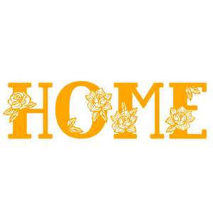 home flower word