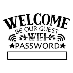 wifi password sign