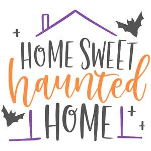 home sweet haunted home bats