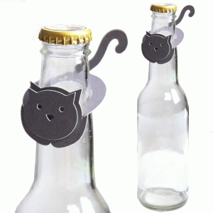 kitty party bottle topper