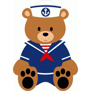 sailor bear boy