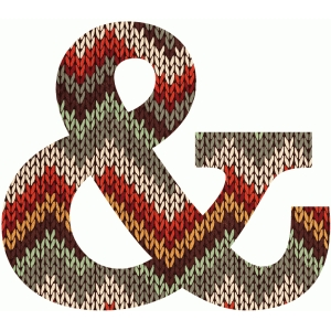 knit ampersand