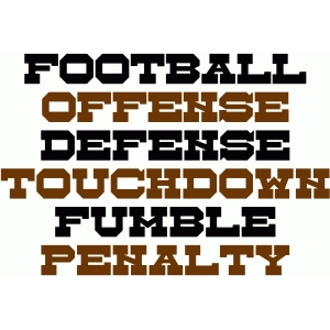 football sayings