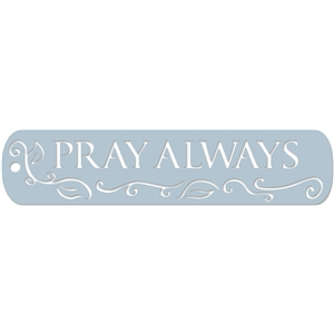 bookmark - pray always